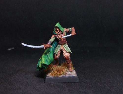 Male Elven Ranger – Dual Wield
