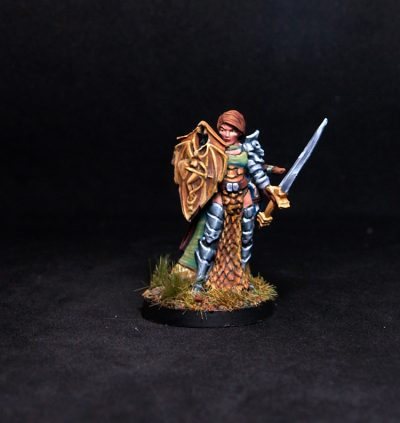 Mara Frostraven, Female Anti-Paladin