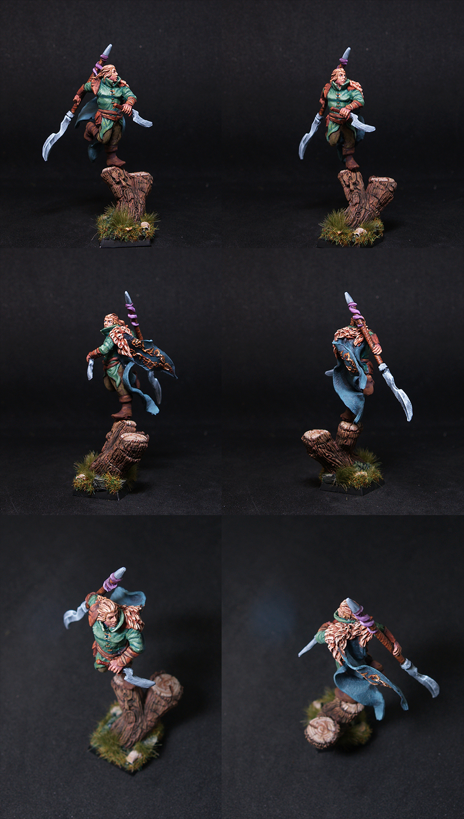Wood El Warrior- Scibor miniatures