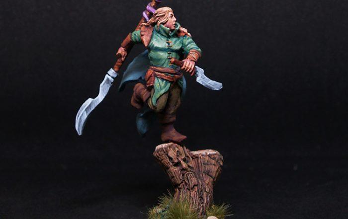 Wood El Warrior- Scibor miniatures