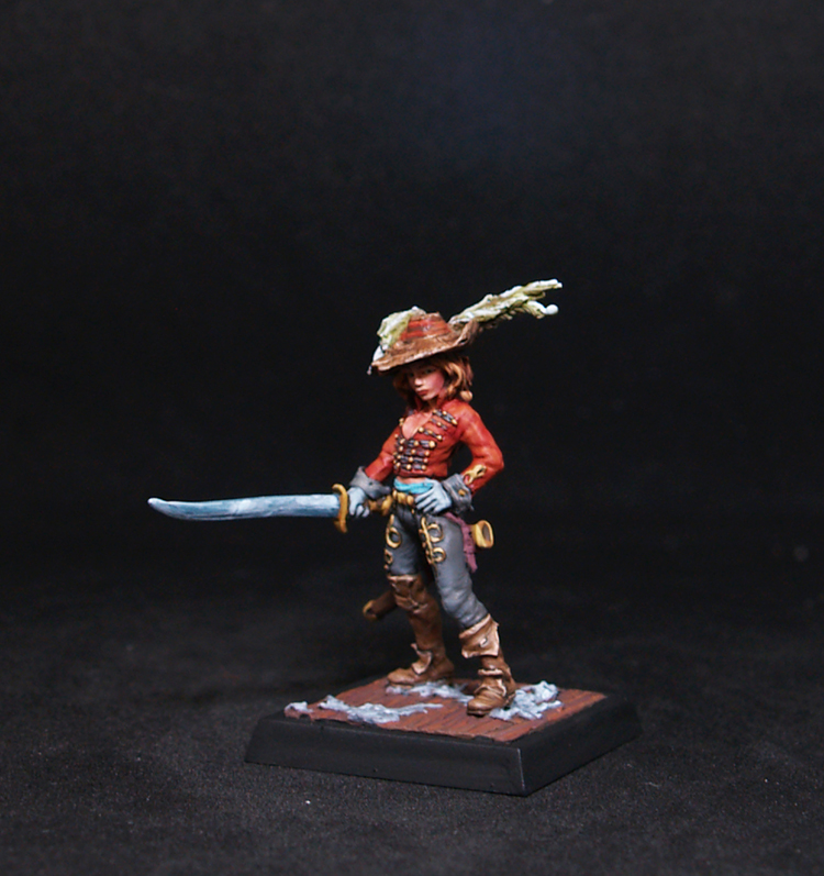 D´Arebosse Female Mercenary