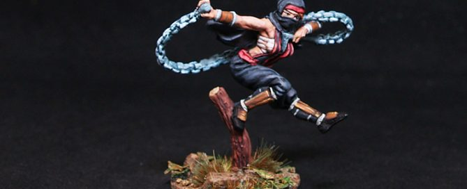 Bushido Bikou Female Thief-Assasin