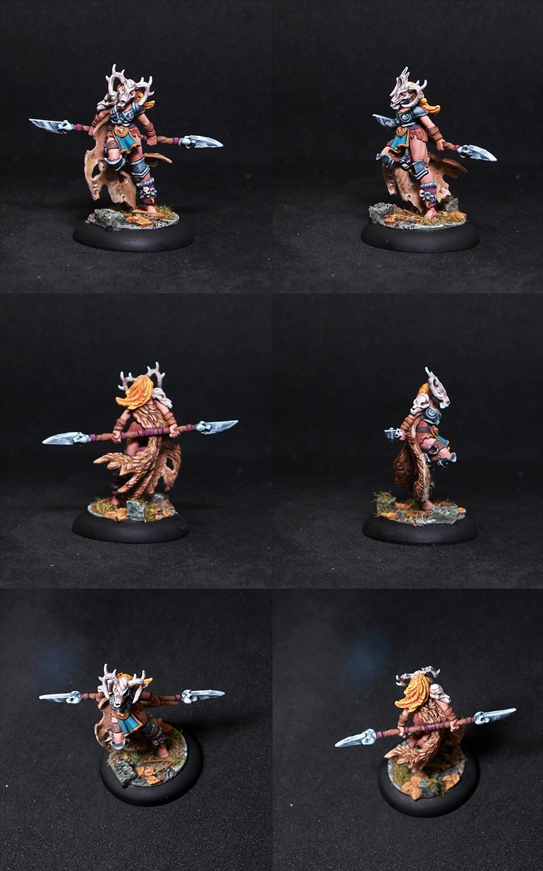 Fannie Female Barbarian Fighter