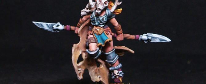 Fannie Female Barbarian Fighter