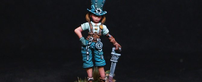 "Harriet ""The Hat"" Female Fighter"