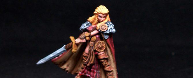 Reaper miniatures Highlander Heroine