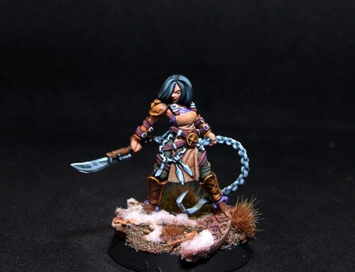 Sarlota Female Fighter