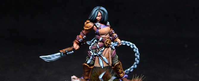 Guild Ball Sarlota Female Fighter