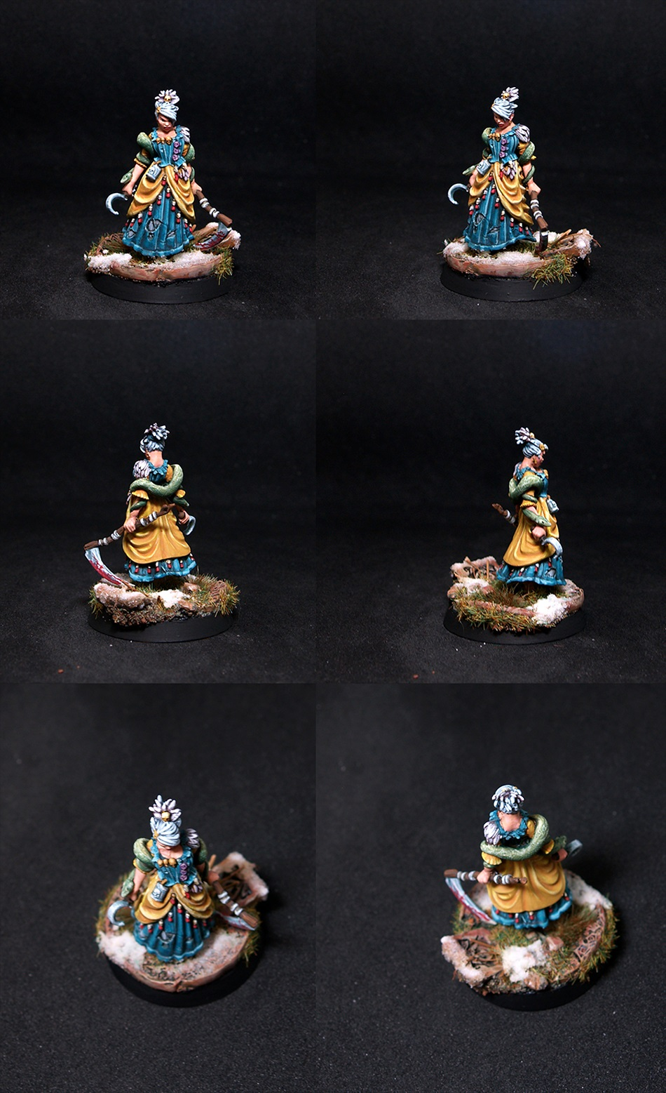 Guild Ball Sheron Female Witch