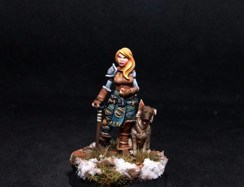 Sherry Female Adventurer with Dog
