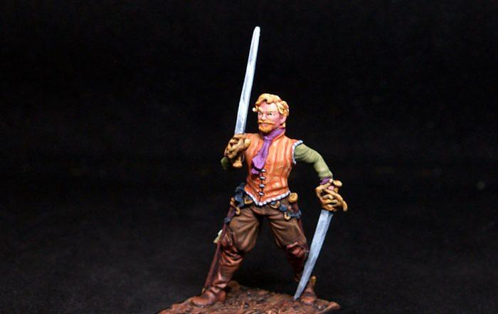 Freebooter Armond Male Mercenary