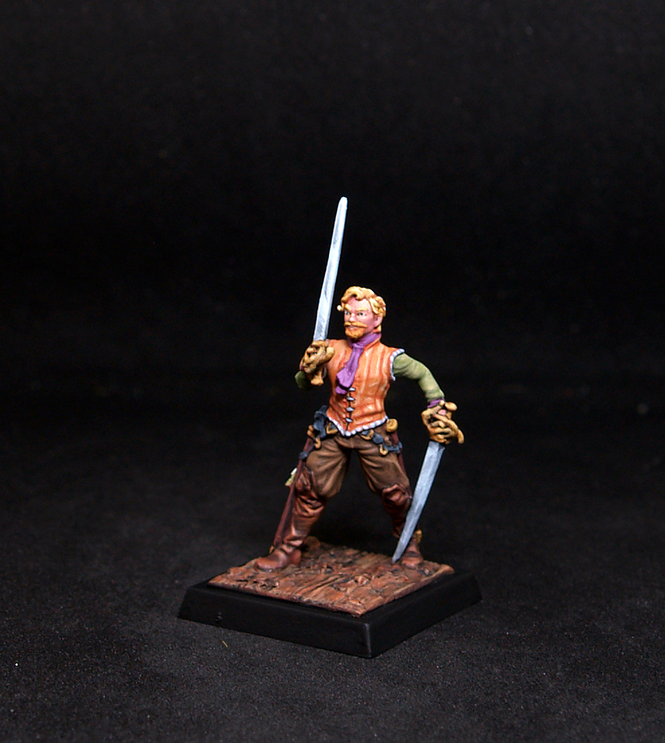 Freebooter Armond Male Mercenary