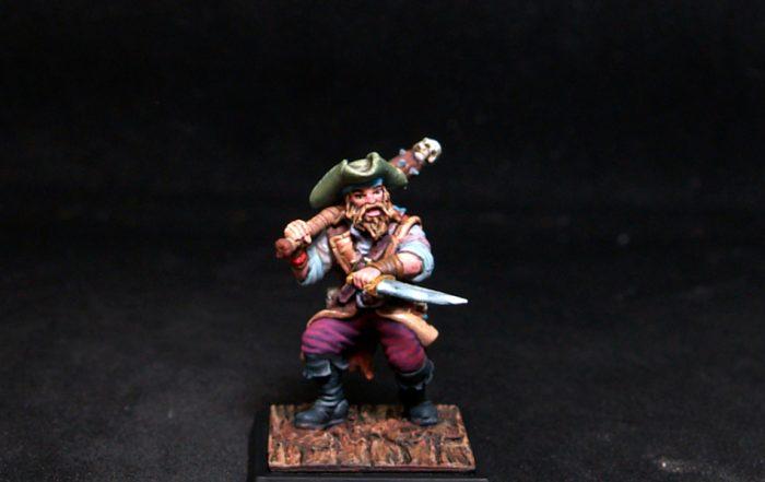 Freebooter Busk Male Mercenary/Pirate