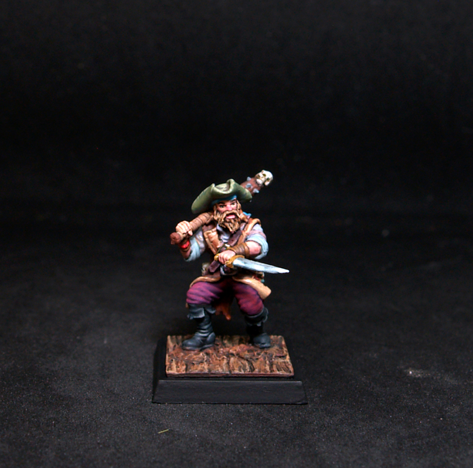 Freebooter Busk Male Mercenary/Pirate