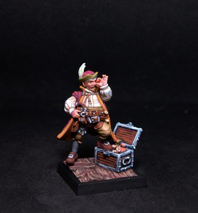 Freebooter Farrador Barrigon Male Mercenary