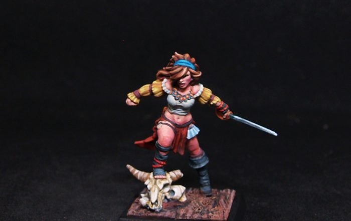 Freebooter Female Fighter