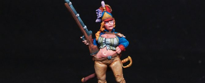 Freebooter Jeanne-Jacques Raynal Female Fighter