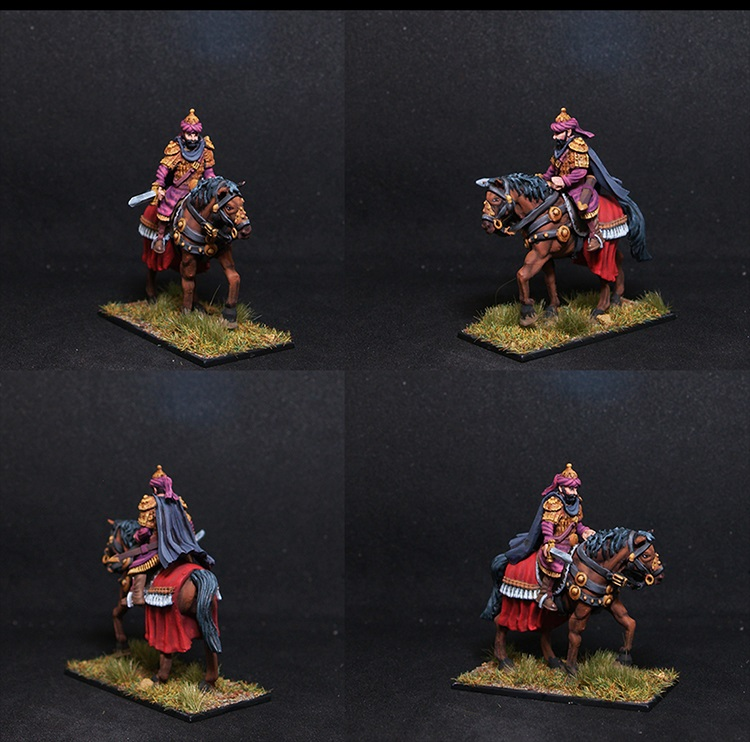 Fireforge Saladin Male Mounted Fighter