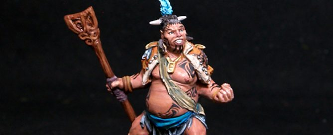 Taumata Male Warrior