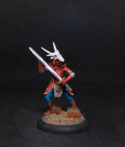Darksword Male warrior with Bastard Sword