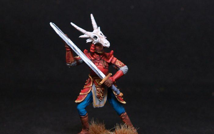 Darksword Male warrior with Bastard Sword
