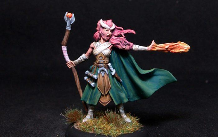 Darksword Female Demonkin Mage