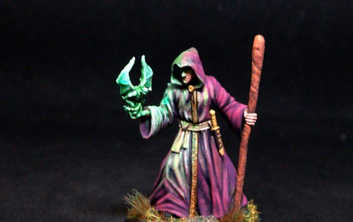 Darksword Male Necromancer with Staff