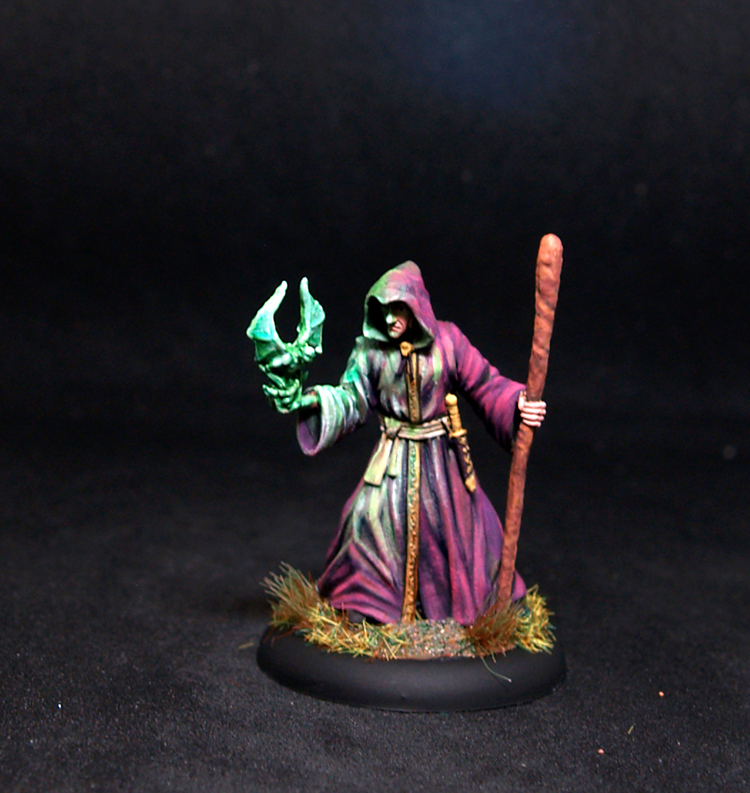 Darksword Male Necromancer with Staff