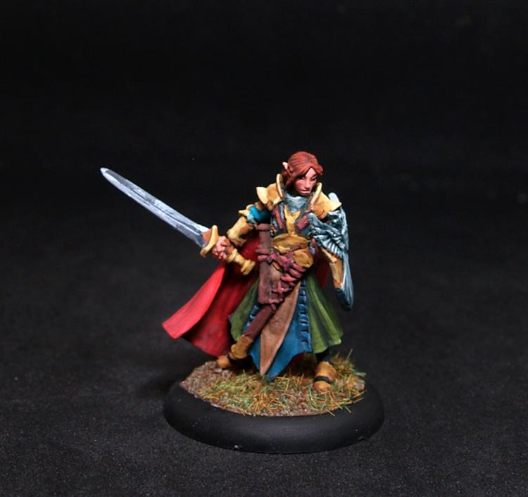 Reaper miniatures-Alandin, Elf Paladin