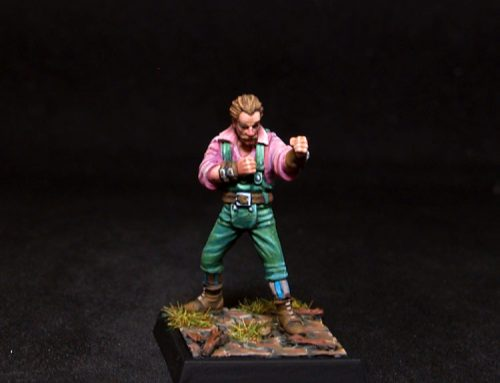 Mâitre Charlemon Fists Fighter