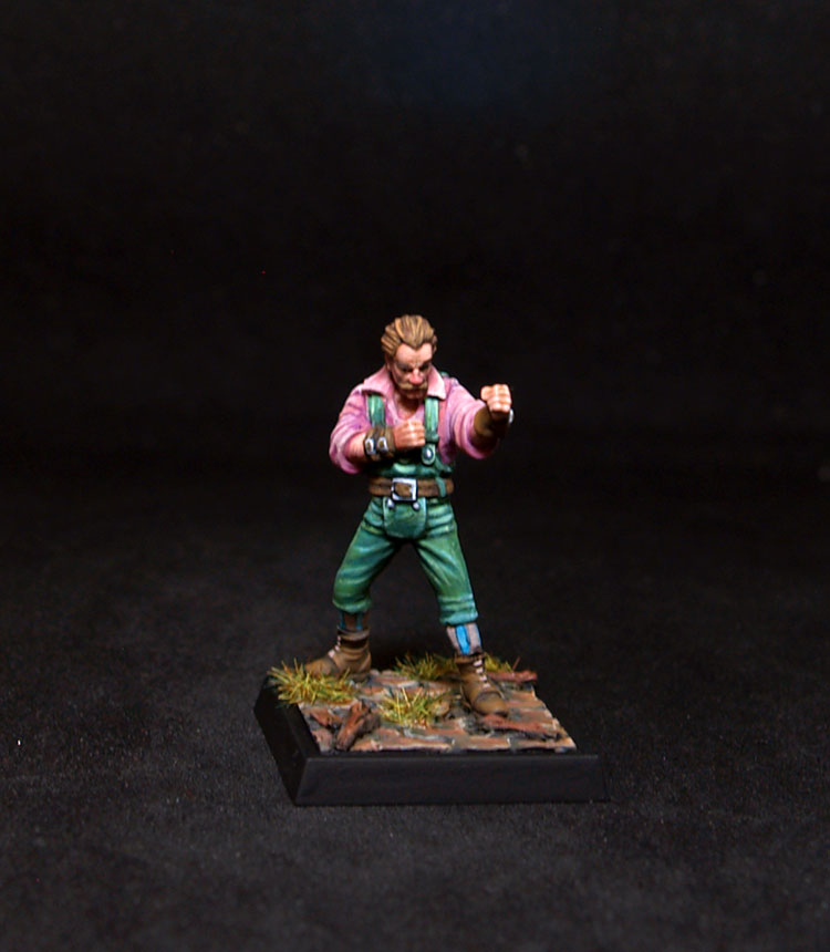 Freebooter Miniatures- Mâitre Charlemon Fists Fighter