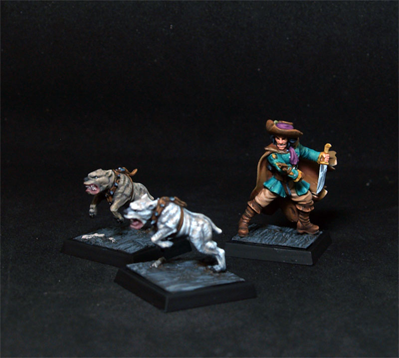 Freebooter Donald Tipo Duro + 2 Mastins