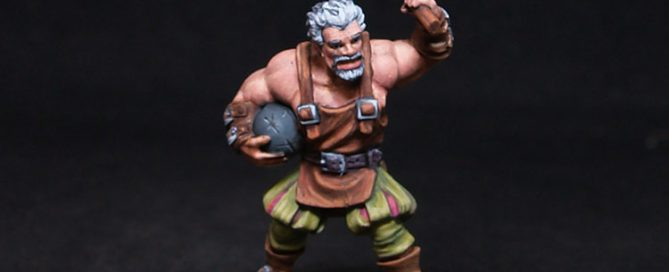 Freebooter Miniatures- Fornido- Male Fighter