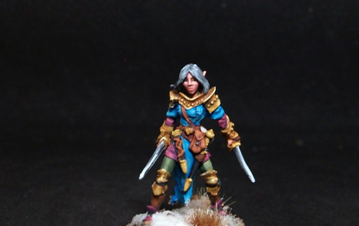 Reaper miniatures Shardis, Female Elf Rogue