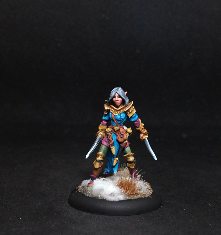 Reaper miniatures Shardis, Female Elf Rogue
