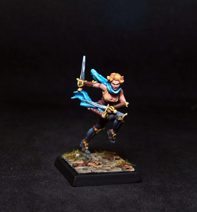 Freebooter Miniatures- Velocia- Female Fighter-Rogue