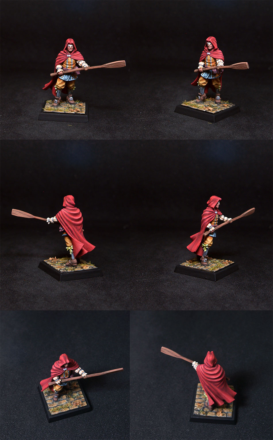 Freebooter Miniatures- Viscero Blind Fighter
