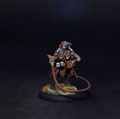 Reaper miniatures Belthual, Elf Chronicler