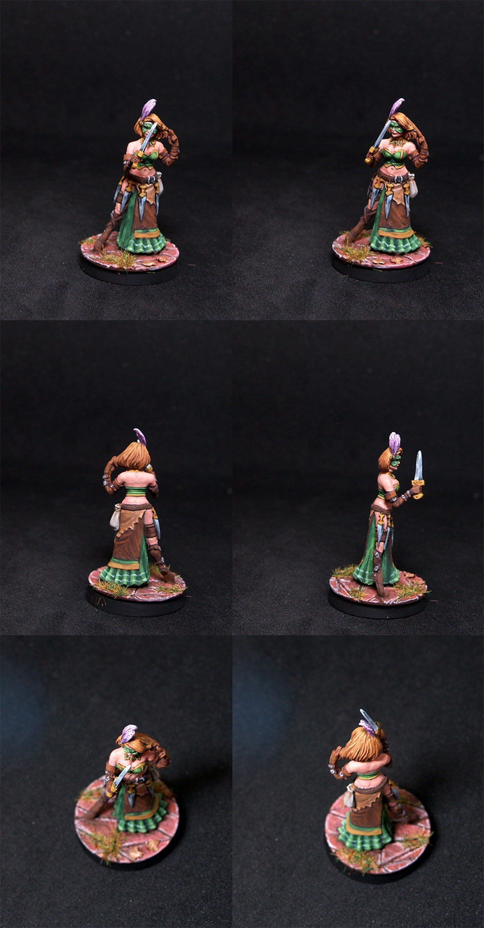 Bombshell Miniatures Elizabeth Beckford - Assassin
