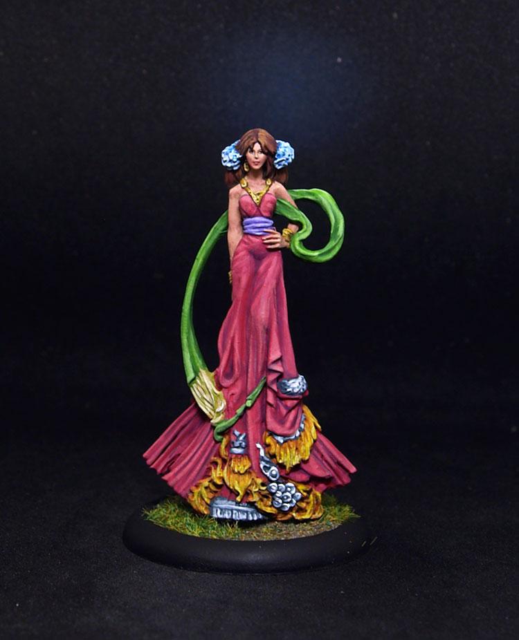 Lucid Eyes Eriu, The Goddess of Ireland