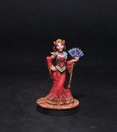Reaper miniatures Queen Ileosa de Korvosa