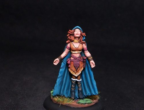 Luta – Female Mage