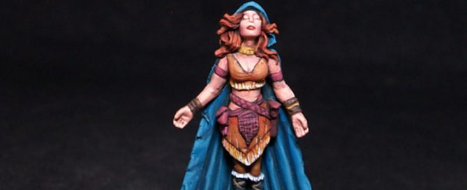 Bombshell Miniatures Luta - Female Mage
