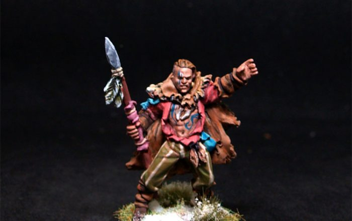 Lucid Eyes Male Fighter Menhir Fivetusks