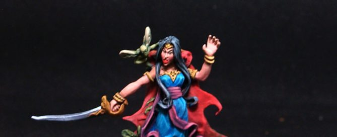 Lucid Eyes Female Druid Orelea of the Long Isles