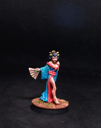Reaper miniatures Oyuki, Geisha