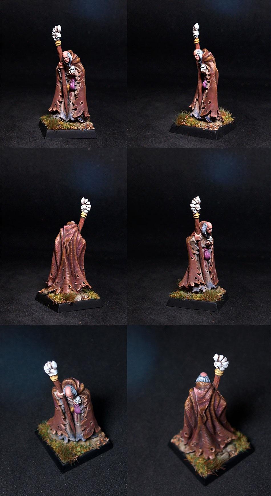 Reaper miniatures Phineas Greybone, Necromancer