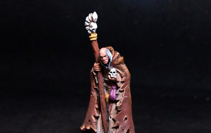 Reaper miniatures Phineas Greybone, Necromancer