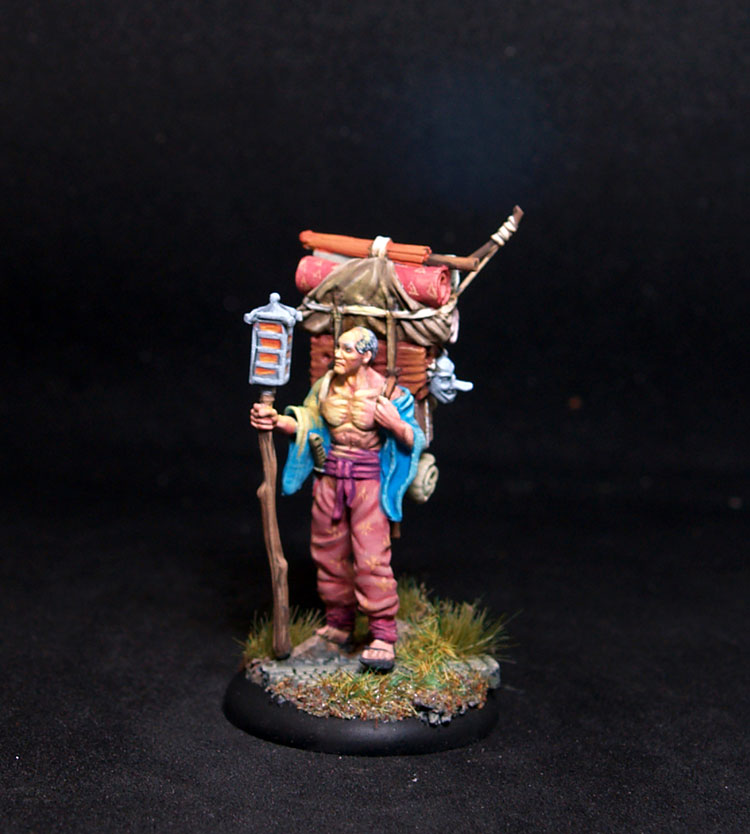 Bushido miniatures Baichi Male Adventurer