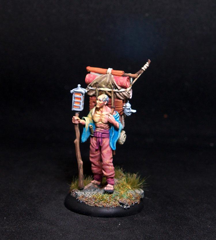 Bushido miniatures Baichi Male Adventurer